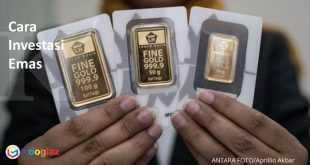 Cara investasi emas terbaik dan menguntungkan