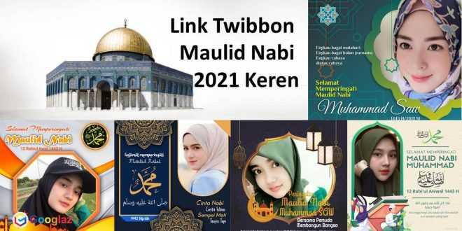 Link Twibbon Nabi 2021 Keren, Untuk Media Sosial