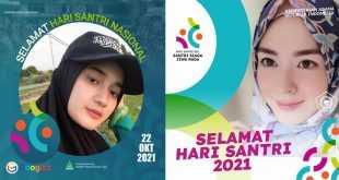 Twibbon Hari Santri Nasional 2021